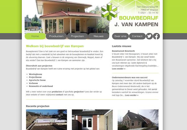 Bouwbedrijf van Kampen